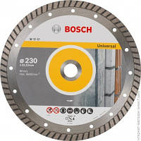Отрезной Диск Bosch Алмазный диск Standard for Universal Turbo 230-22,23, 10 шт в уп. (2608603252)