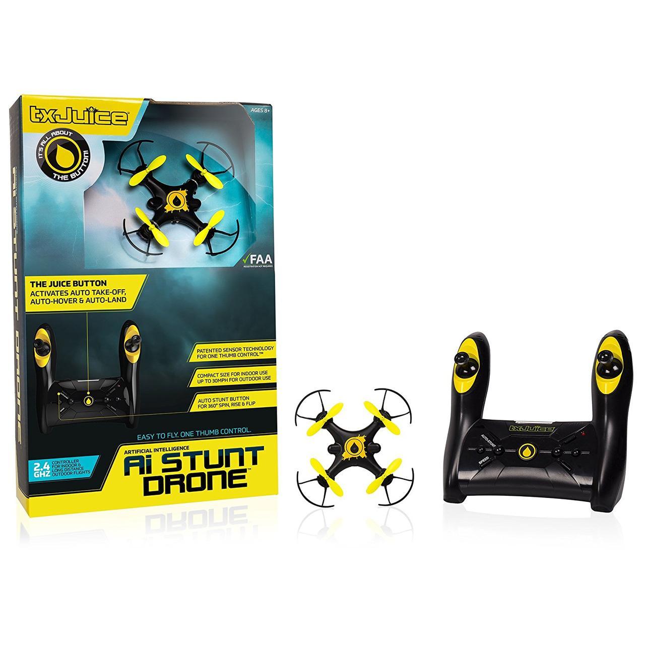Квадрокоптер - Дрон / TX Juice Ai Stunt Drone - Quadcopter