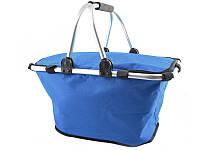 Алюмінієва термо корзина кошик термосумка для пікніку голубий