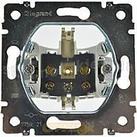 Розетка электрическая 2К+3 (16А, 250В винтовые клеммы, немецкий стандарт) Legrand Galea Life (775921)