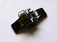 Автоматическая застежка бабочка - черная