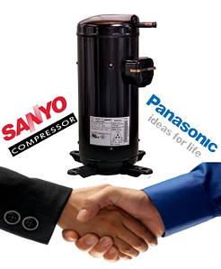 Спиральные компрессоры Panasonic (SANYO)