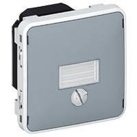 Выключатель сумеречный (0,5-1500лк) 10АХ 250В ІР55 ІК07 Legrand Plexo Серый (69517)