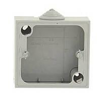 Монтажна коробка (накладна) ІР55 (79 х 86 х 40 мм) для розеток 20А Legrand Plexo (90359)