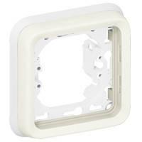 Рамка 1-постовая с суппортом ІР55, ІК07 Legrand Plexo Белый (069692)