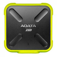 SSD накопитель ADATA USB 3.1 SD700 IP68 256GB Yellow