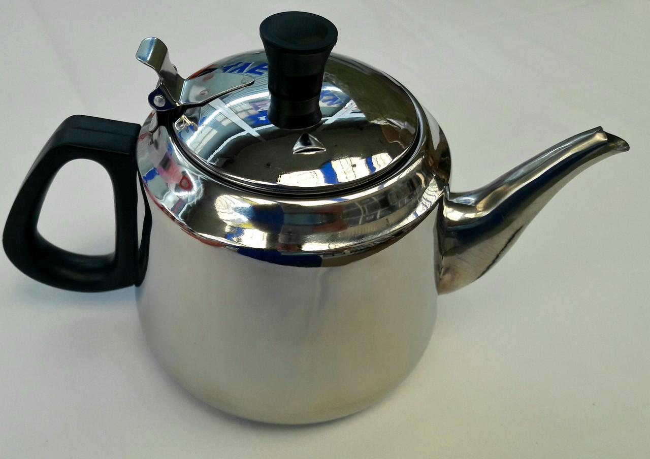 Заварочный чайник 1 л. (нержавейка)