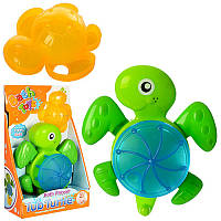 Игрушкадля купанияВодопад SL87008, черепаха 16см, на присоске, в кор-ке, 16,5-25,5-7см