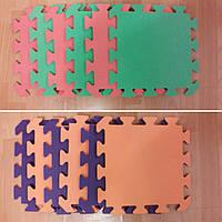 Коврик-пазл для детей 300х300х8 мм,  покрытие для игровых центров