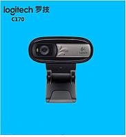 Logitech C170 - надежная веб камера для ноутбука, мини ПК, телевизора