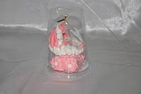 """Украшение для торта """"Розовая коляска"""""""