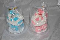"""Сахарное украшение для торта """"Младенец в коляске"""""""