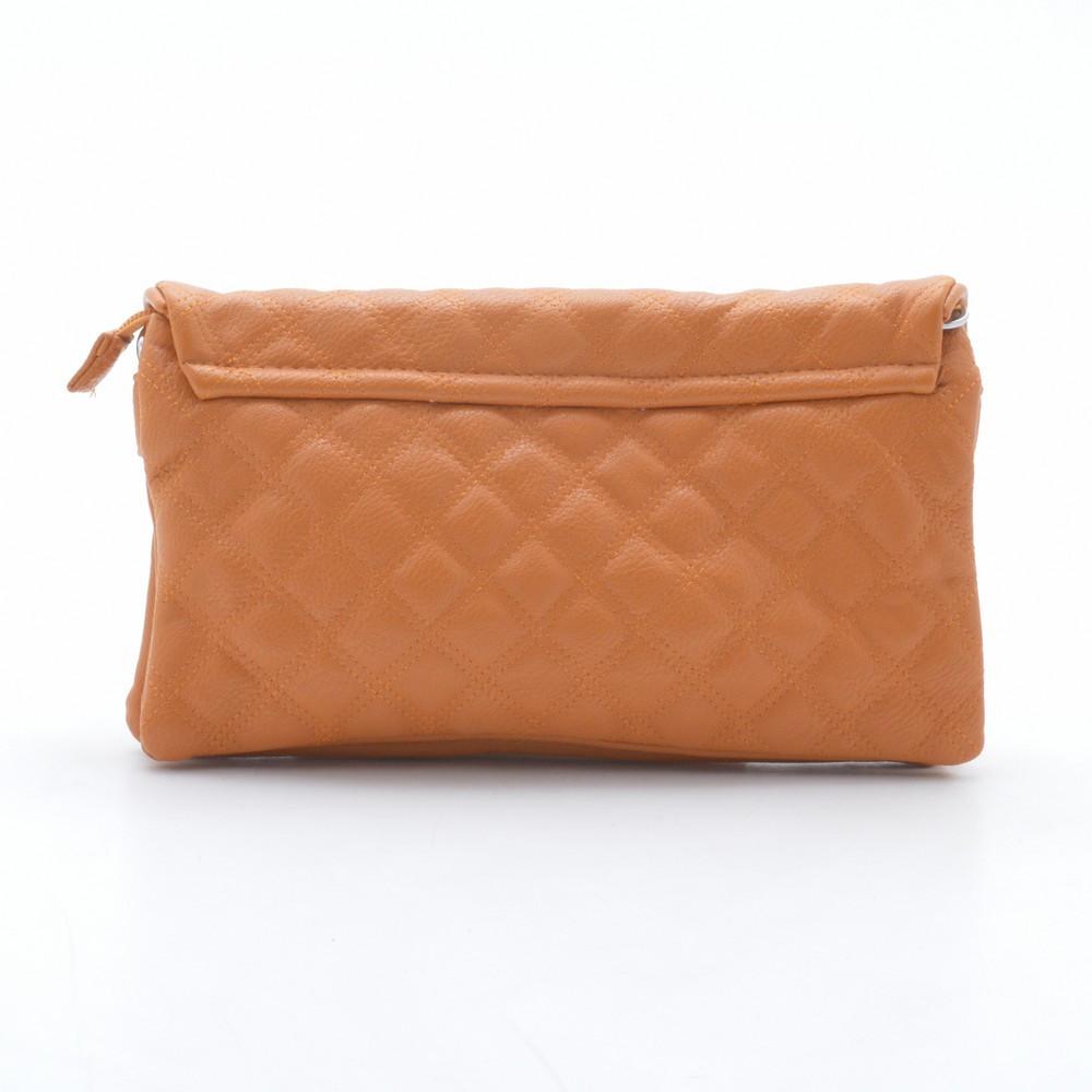 64d250b70ac9 Модный стеганый оригинальный клатч , оранжевый: продажа, цена в ...