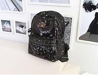 Рюкзак женский с пайетками Queen.