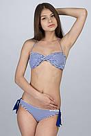 Купальник бикини КЖ-740 Синяя полоска