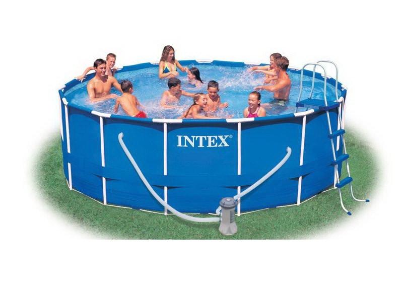 Каркасный бассейн (457х122 см) Intex