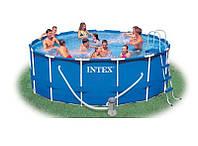 Каркасный бассейн (457х122 см) Intex, фото 1
