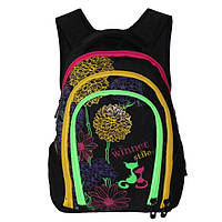 Школьный рюкзак для девочки, Winner Stile черный