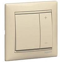 Светорегулятор кнопочный 40-600Вт Legrand Valena Слоновая Кость (774174)