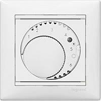 Термостат для тёплых полов Legrand Valena Белый (770091)