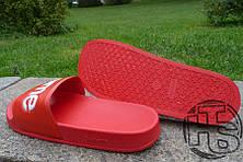 Чоловічі капці Supreme Slide Red, фото 3