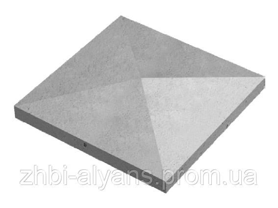 Крышка конусная 48-48-9 серый