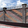 Фасадный камень пустотелый 250х100х65 графит, фото 2