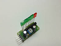 Блок 5-ти светодиодный индикатор уровня на AN6884 с прямоугольными светодиодами.