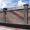 Фасадный камень угловой 185х35х60 вишня, фото 3