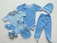 Подарочный набор в роддом для новорожденного 7 в 1