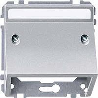 Вставки для телекоммуникационной техники Merten Алюминий (MTN464360)