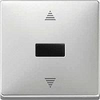 Выключатель кнопочный для жалюзи с ИК-приемником и датчика Merten (MTN584446)