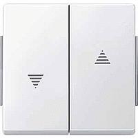 Клавиша выключателя Merten Aquadesign Полярно-Белый (MTN343419)