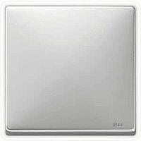 Клавиша выключателя Merten Нержавеющая Сталь (MTN412046)