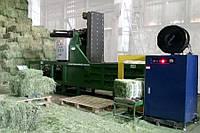 Пресс компактор для соломы и сена