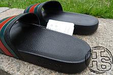 Мужские шлепанцы реплика Gucci Slide, фото 2
