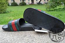 Мужские шлепанцы реплика Gucci Slide, фото 3