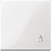 """Клавиша выключателя с символом """"Свет"""" Merten Полярно-Белый (MTN438919)"""