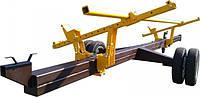 Универсальная одноосная тележка Carrello 7.6 метров для транспортировки жатки