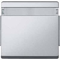 Клавиша с окном для символов Merten Aquadesign Алюминий (MTN343960)