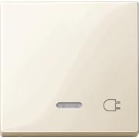 Клавиша с окошком для световой индикации и маркировкой Merten Активно-Белый (MTN435244)