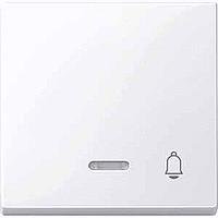 Клавиша с окошком для световой индикации и маркировкой Merten Активно-Белый (MTN435825)