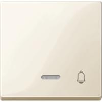 Клавиша с окошком для световой индикации и маркировкой Merten Бежевый (MTN435844)