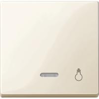 Клавиша с окошком для световой индикации и маркировкой Merten Бежевый (MTN435944)