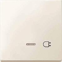 Клавиша с окошком для световой индикации и маркировкой Merten Бежевый (MTN437244)
