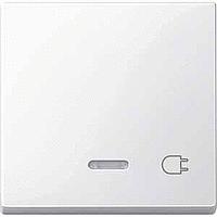 Клавиша с окошком для световой индикации и маркировкой Merten Полярно-Белый (MTN435219)