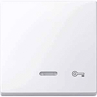 Клавиша с окошком для световой индикации и пиктограммой Merten Активно-Белый (MTN435325)