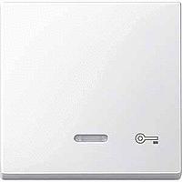 Клавиша с окошком для световой индикации и пиктограммой Merten Полярно-Белый (MTN435319)