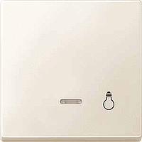 Клавиша с окошком для световой индикации и пиктограммой Merten Бежевый (MTN437944)