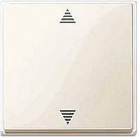 Кнопка выключения для жалюзи с паматью и датчиком Merten Бежевый (MTN587944)
